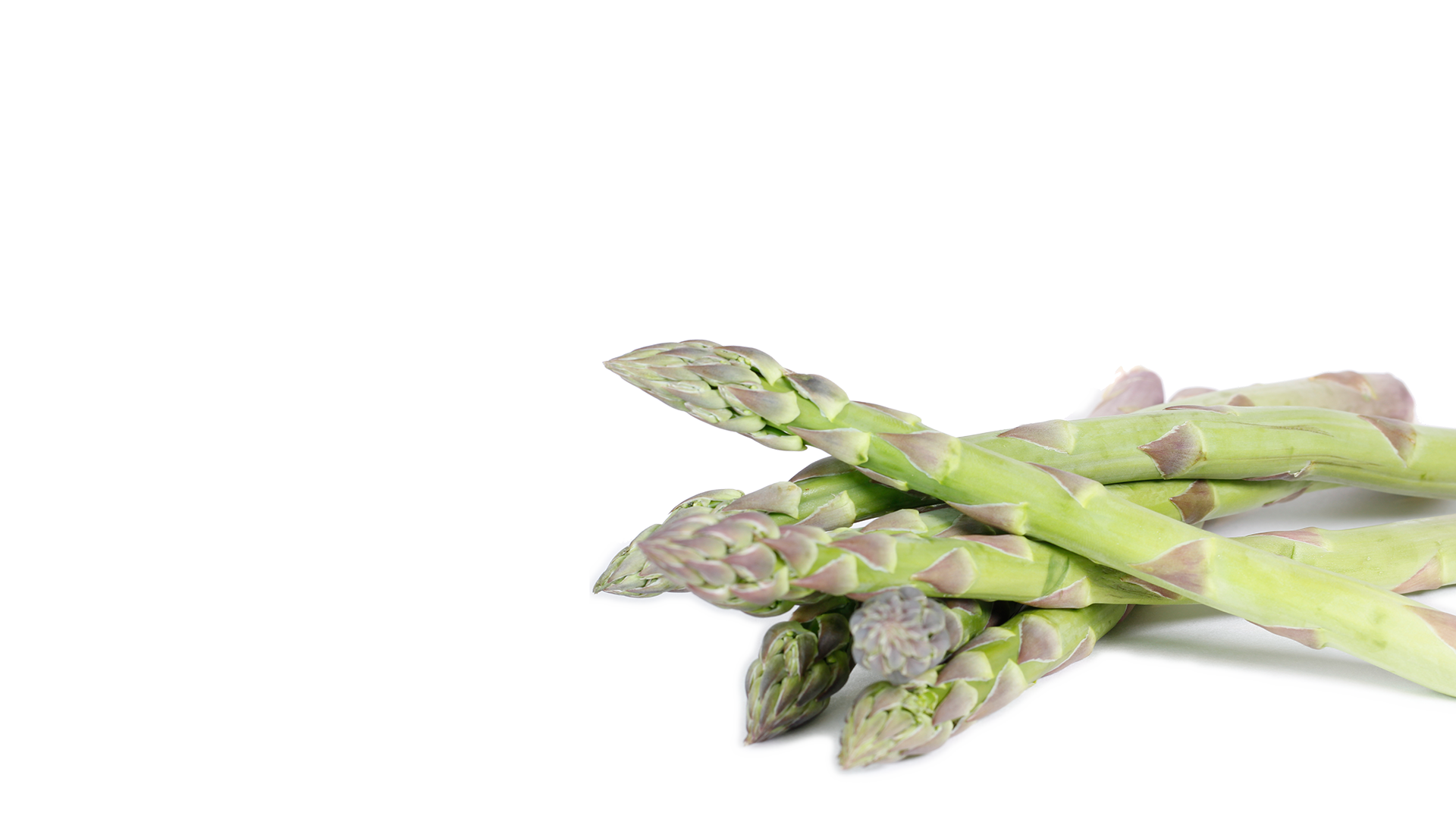 a lovely bunch of asparagus